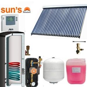 Pachet  panouri solare 6 pers. economic, panou SPF 30, boiler 300 litri, 1 serpentina