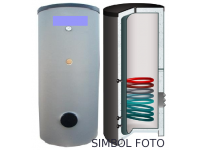 Boiler solar cu 1 serpentina S-line N-TWS-1W 160 L