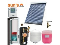 Pachet panouri solare 3 persoane, economic, panou SPF 20, boiler 200 litri, 1 serpentina