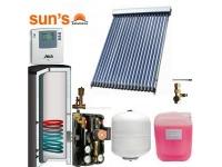 Pachet panouri solare 3 persoane panou SPF 20  tuburi, boiler 200 L, 1 serpentina
