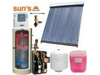 Pachet panouri solare 5 pers. panou SPF 30 tuburi, boiler 200 L, 2 serpentine