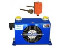 Protectie la supraincalzire a panourilor solare, radiator hidraulic de 34W + Termostat de imersie cu teaca 1/2