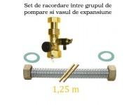 Set racord de legatura pompa-vas expansiune, inclusiv cap-ventil 3/4
