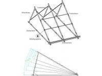 Suport aluminiu compensare unghi montaj panou WTB58/1800-A 20