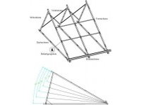 Suport aluminiu compensare unghi montaj panou WTB58/1800-A 30