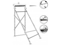 Suport aluminiu panou WTB 58/1800-A 10 montaj pe acoperis plan sau terasa